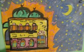 Финал конкурса детского рисунка на тему «Мечеть – самое чистое место на Земле».Фото-11