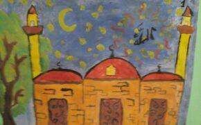 Финал конкурса детского рисунка на тему «Мечеть – самое чистое место на Земле».Фото-12