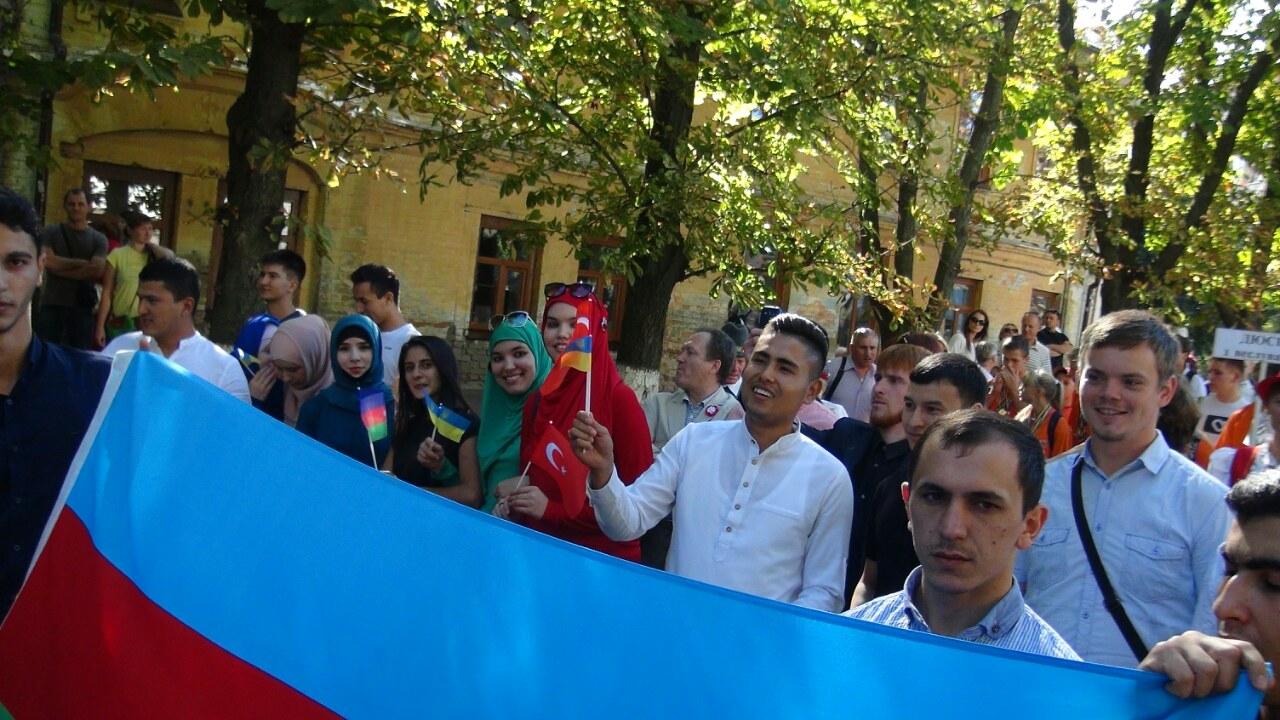Черкасские мусульмане приняли участие в Дне города - 2016
