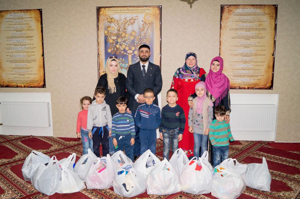 Мусульмане Полтавы посетили интернат