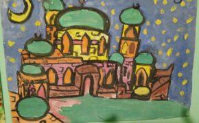 Финал конкурса детского рисунка на тему «Мечеть – самое чистое место на Земле».Фото-01