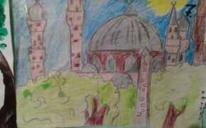 Финал конкурса детского рисунка на тему «Мечеть – самое чистое место на Земле».Фото-07