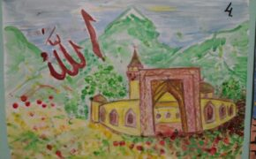 Финал конкурса детского рисунка на тему «Мечеть – самое чистое место на Земле».Фото-17